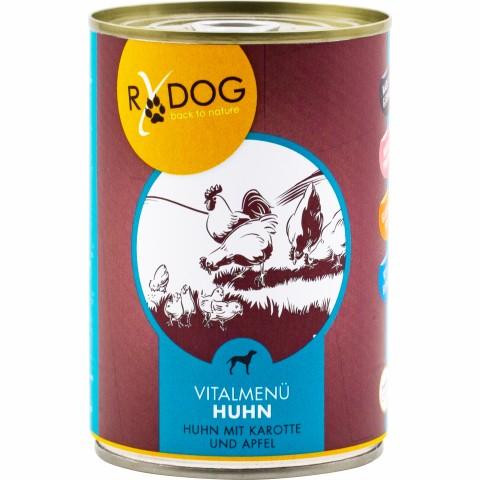 RyDog Vital Menu Chicken (Vitalmenü Huhn) 400g (6 Piece)